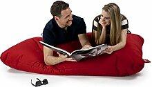 Sitzsack Tuli XXL Big Sofa, 170 x 140 x 30, 640l Made in EU Manufaktur Sessel mit extra starken Nähten verschiedene Farben und Motiven Einschichtig - Sitzsäcke - Bodenkissen Sitzkissen Kissen Sessel Sitzsofa 100% Polyester Ro
