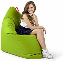 Sitzsack Tuli XXL Sofa 140 x 140 x 30, 500l Made in EU Manufaktur Sessel mit extra starken Nähten verschiedene Farben und Motiven Einschichtig - Sitzsäcke - Bodenkissen Sitzkissen Kissen Sessel Sitzsofa 100% Polyester Neon
