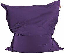 Sitzsack Violett 140 x 180 cm Indoor Outdoor Stark
