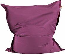Sitzsack Violett Lila 140 x 180 cm Indoor Outdoor