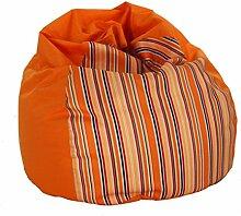 Sitzsack von XMC Choise Sack in der Farbe Orange, red, black, white
