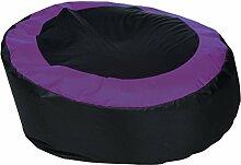 Sitzsack von XMC Hot Spot Optilon in der Farbe Black 01, Purple 19