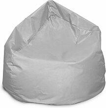 Sitzsack XL Bag Grau Sitzkissen Bodenkissen Kissen