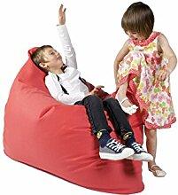 Sitzsack XL Tuli Sofa 100% Polyester 130 x 110 x 25 300l Made in EU Manufaktur Sessel mit extra starken Nähten verschiedene Farben und Motiven Einschichtig - Sitzsäcke - Bodenkissen Sitzkissen Kissen Sessel Sitzsofa 100% Polyester Himber Pink