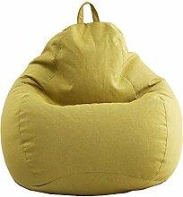 Sitzsackhülle, Baumwolle und Leinen Sitzsack