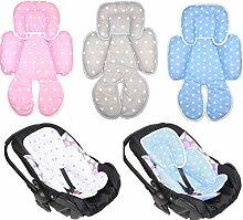 Sitzverkleinerer - Sterne- Baumwolle Baby Kind