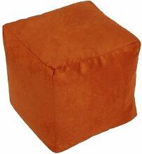 Sitzwürfel Alka Terra klein, Farbe Terra, Größe 30/30/30 cm, 1000000005368