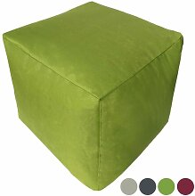 Sitzwürfel Bamba - Grün - Mila Möbel