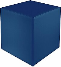 Sitzwürfel Blau Maße: 43 cm x 43 cm x 48 cm