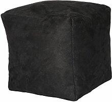 Sitzwürfel Hocker anthrazit 40x40x40 cm