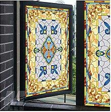 Siunwdiy Statische Fenster-Folie, Selbstklebend