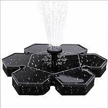 Six6 Solarwasser-Pumpe, LED-Mini-unabhängige