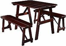SixBros. Kinder Picknicktisch Gartengarnitur