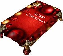Sixcup  Tischdecke Weihnachtstischdecke