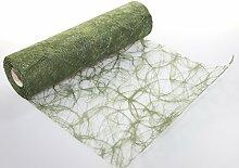 Sizoweb 30 cm x 25m 6605 moosgrün