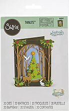 Sizzix 663611 Christmas Shadow Box by Courtney