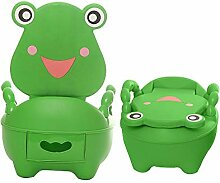 SJ&Q Baby-Toilette, Kinder-WC-Froschform für
