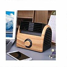 SJBDGGJ Mini Tragbare Kleine Desktop-Fan,Bladeless