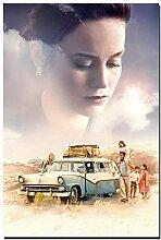 sjkkad Das Glas Schloss Film Wandkunst Poster