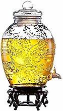 SJmeet Bowle Gefäß Wasserspender Saft Bier