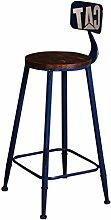SJPZFQ Hoher Hocker, Bar Kitchen Dining Chair |