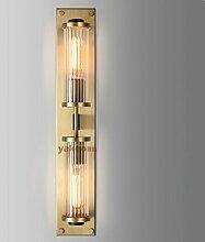 SJUN—Amerikanische Einfachheit Wand Lampe Nachttischlampe Chinesisch Hotelflur Kristall Lampe,B