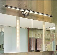 SJUN Amerikanische Spiegel Leuchten Led Europäischen Spiegel Lampe Vintage Spiegel Schrank Leichte Feuchtigkeit Toilette Rost Kommode Lampen,50Cm (A) Warmes Lich