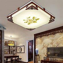 SJUN Chinesische LED-Deckenleuchte Schlafzimmer