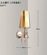 SJUN-Classic Creative Wohnzimmer Flur LED Wandleuchte Wand Lampe am Bett serviert Einfache und moderne Wandleuchte,C