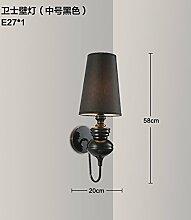 SJUN-Classic Creative Wohnzimmer Flur LED Wandleuchte Wand Lampe am Bett serviert Einfache und moderne Wandleuchte,I