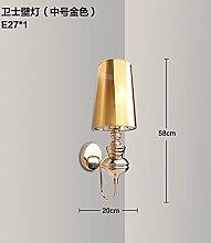 SJUN-Classic Creative Wohnzimmer Flur LED Wandleuchte Wand Lampe am Bett serviert Einfache und moderne Wandleuchte,F