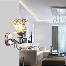 SJUN-LED-Lampe am Bett Schlafzimmer mit modernen, minimalistischen Stil Ideen Stil wohnzimmer Diele Treppe Balkon Wandleuchten,C