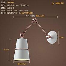 SJUN-modernen Industrie nach dem Wind Vintage Bar Cafe Bar Gang Lampe Wandleuchte Hallenbad,D