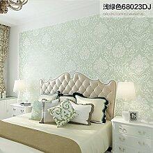 SJUN TAPETE Moderne Minimalistische Vlies Tapete Tapete-Schlafzimmer/Wohnzimmer Europäisch Anmutenden Luxusleuchte,A