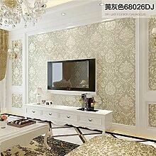 SJUN TAPETE Moderne Minimalistische Vlies Tapete Tapete-Schlafzimmer/Wohnzimmer Europäisch Anmutenden Luxusleuchte,B