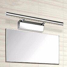 SJUN Wasserdichte Rost Led Anti-Beschlag-Spiegel Modernes Minimalistisches Bad Badezimmer Spiegel Badezimmer Schrank Lampe,Warm / 70Cm