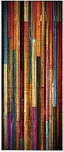 SJXCDZ DIY Dekor abnehmbare Tür Aufkleber, Farbe