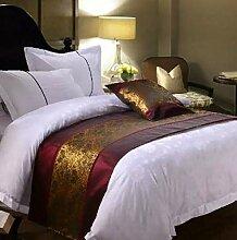 SjyBed Bettläufer Schal Betttisch Bett mit