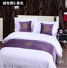 SjyBed Bettläufer Schal Betttisch Bettende