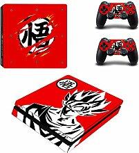 SJYMKYC Anime Dragon Ball Goku PS4 Slim Haut