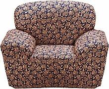 SK Studio Moderner Stil Stretchhusse Hussen Für Sofa Couchhusse Sofabezug Bi-Elastische Einfache Installation Schwarz 1 Sitzer 90-140CM
