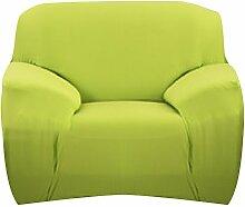 SK Studio Moderner Stil Stretchhusse Hussen Für Sofa Couchhusse Sofabezug Bi-Elastische Feste Farbe 4 Sitzer 195-300CM Grün