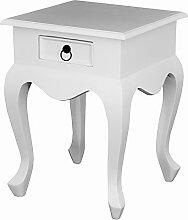 SKAGEN Lampe Tisch, Holz, Weiß