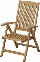 Skagerak - Columbus Chair, ungepolstert, Teakholz