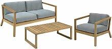 Skagerak Virkelyst Gartenset Loungesofa + Sessel +