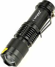 SkaizeTM Starke Mini CREE LED Taschenlampe