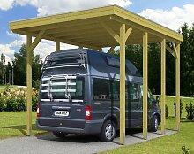 Skan Holz Caravan Carport Friesland, Nadelholz, 397 x 555 cm, imprägniert