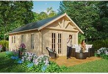 Skan Holz-Gartenhaus/Gerätehaus Toronto 4 mit