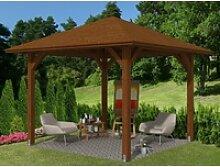 Skan Holz Holz-Pavillon Cannes 1 Nussbaum lasiert
