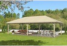 Skan Holz Holz-Pavillon Orleans 4 Natur